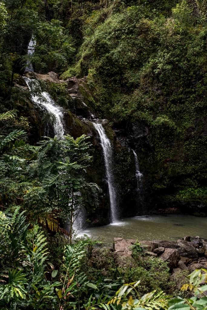 Three Bear Falls Maui