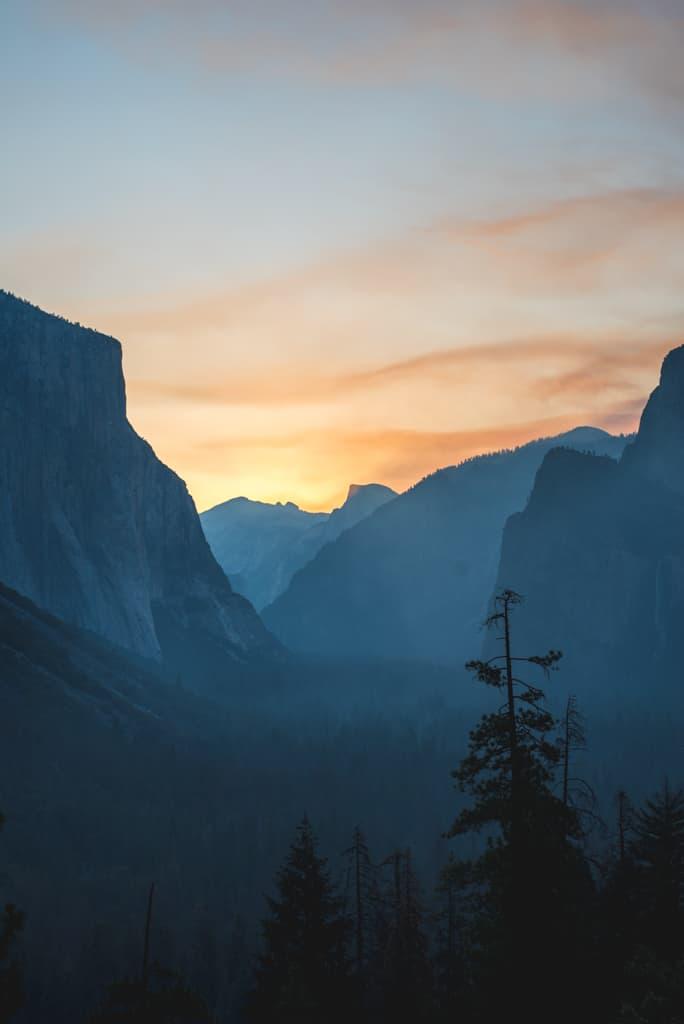 Yosemite sunrise