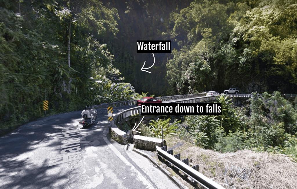 Three Bear Falls Map