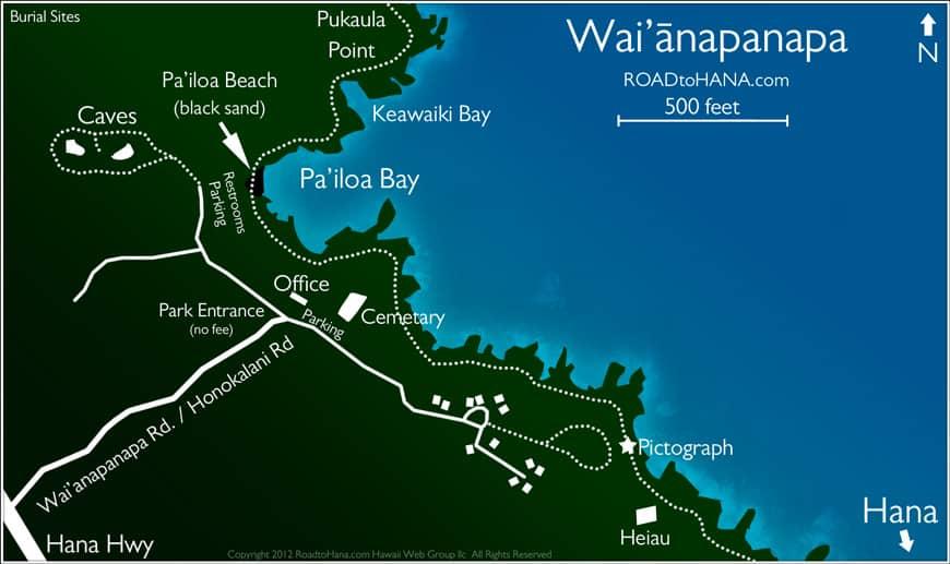Waianapanapa Map
