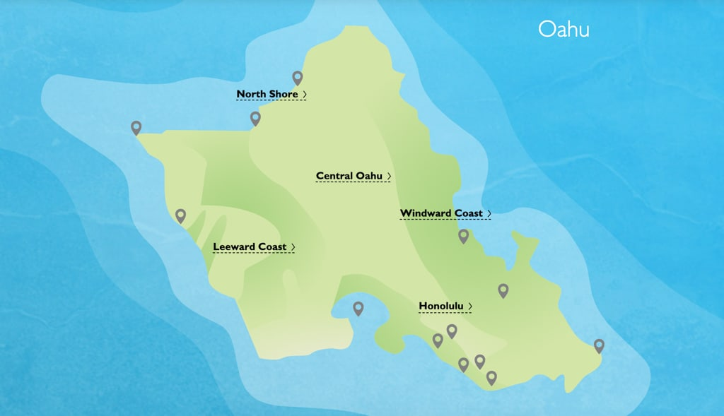 Oahu Regions