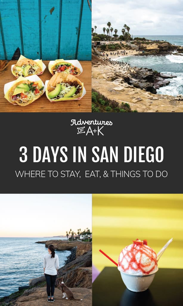 3 Days in San Diego | San Diego Itinerary | San Diego California | San Diego Guide | Where to eat in San Diego | Best food in San Diego | Best Tacos in San Diego | Things to do in San Diego | San Diego Coffee Shops | San Diego Tacos | San Diego Beaches | La Jolla | What to do in San Diego | San Diego Travel