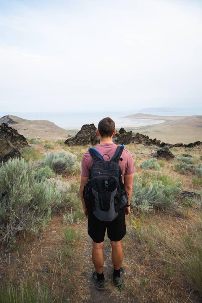 Visiting the Great Salt Lake, Things to do at Antelope Island State Park, Visiting Antelope Island State Park, Hiking to Frary Peak, What to do at the Great Salt Lake, Swim in the Great Salt Lake, Float in the Great Salt Lake, Things to do at the Great Salt Lake, Antelope Island State Park, Antelope Island camping, Antelope Island Utah, Things to do near Salt Lake City, Salt Lake City hikes, Things to do in Utah, What to do in Utah, Visiting Utah