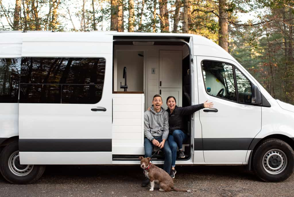 van life with a dog, travel with your dog