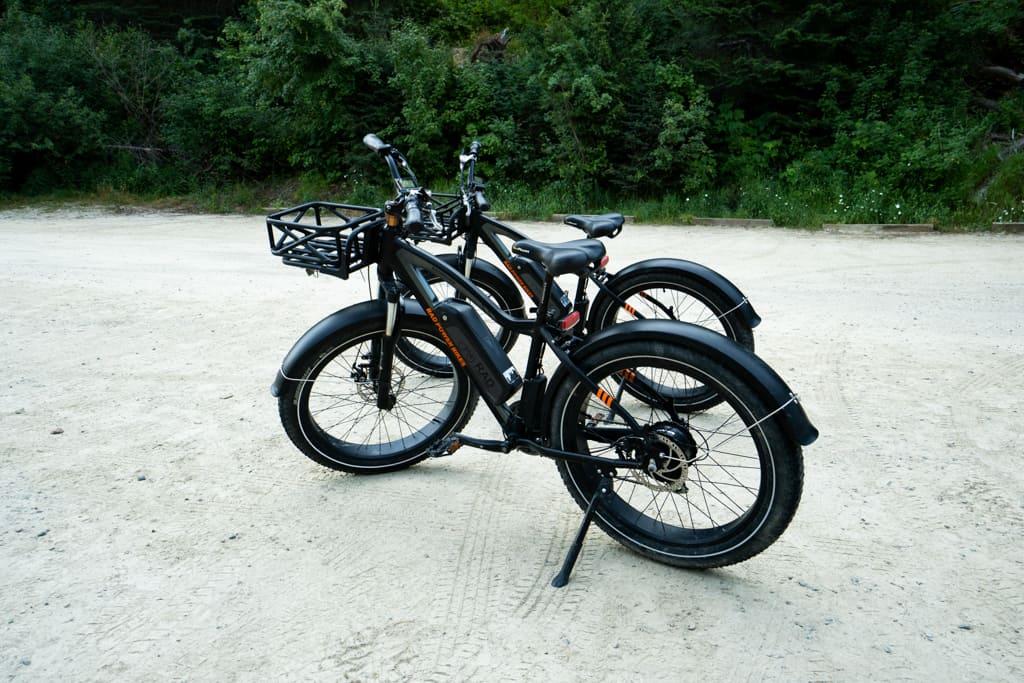 e-bikes route of the hiawatha