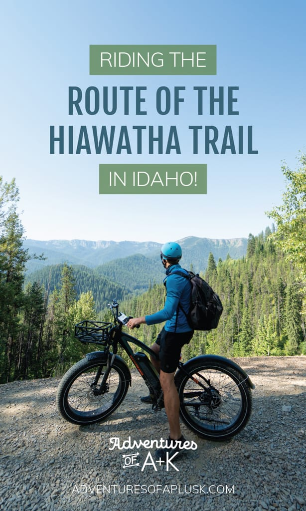 Riding the Route of the Hiawatha Trail in Idaho, Hiawatha Trail, Hiawatha Bike Trail, Best bike trails in the US, Bike trails in Idaho, Where to mountain bike in Idaho, Rail to Trail Idaho, Route of the Hiawatha trail bike rentals, Route of the Hiawatha trail cost, Route of the Hiawatha trail map, Things to do in Wallace Idaho, Things to do in Coeur D'Alene Idaho, Things to do in Idaho
