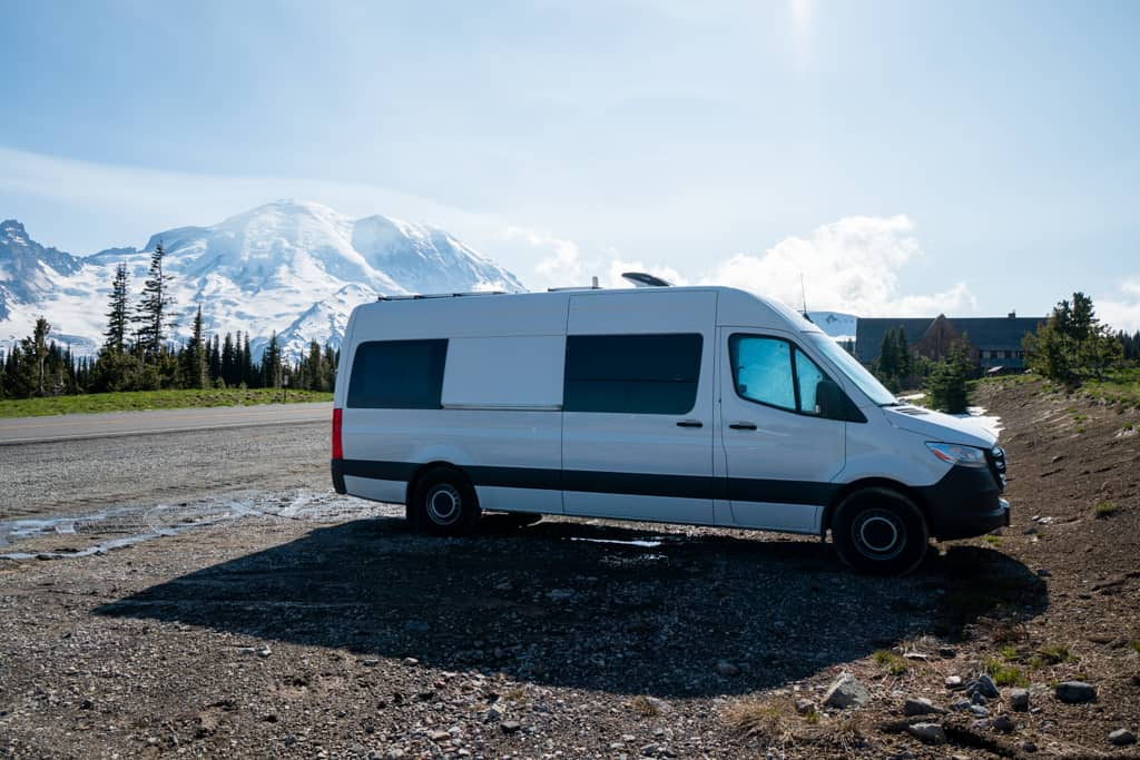 Getting around Mount Rainier