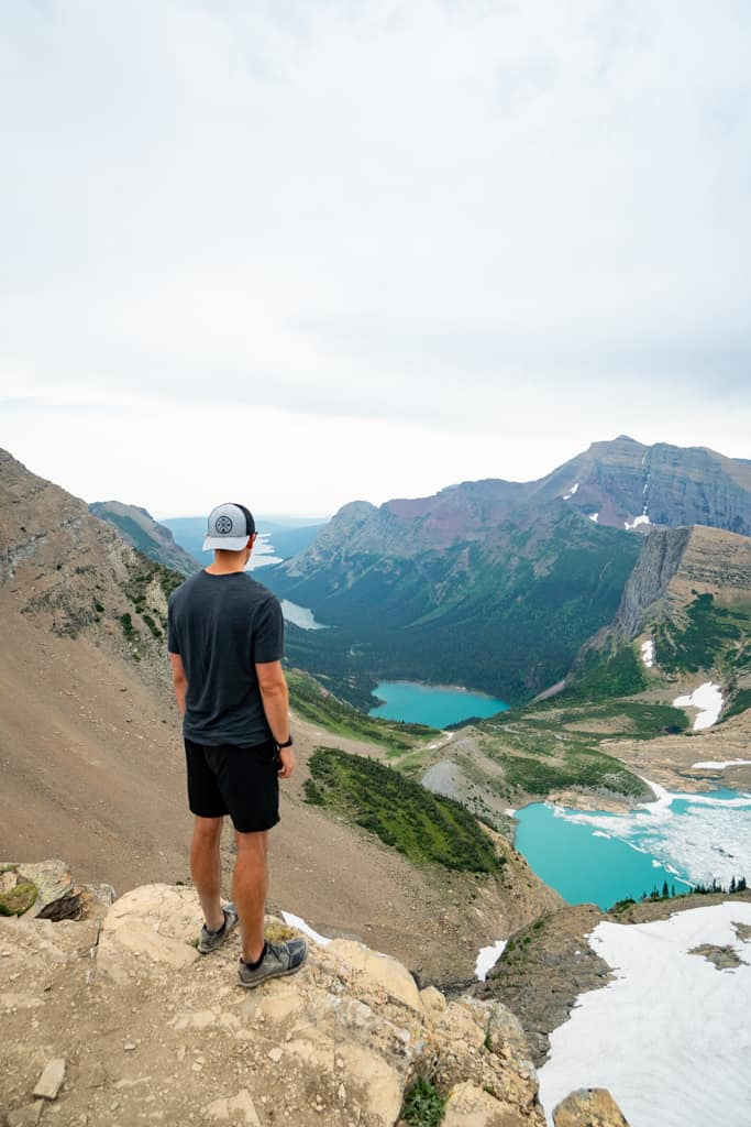 Highline Trail Glacier National Park itinerary