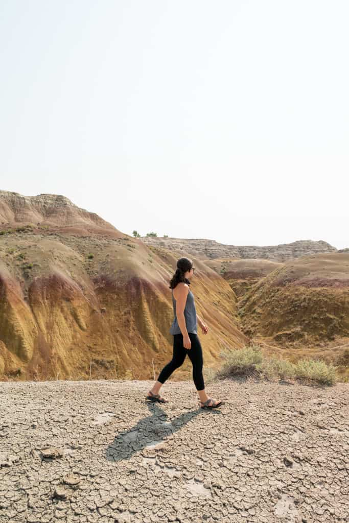 Yellow Mound Badlands