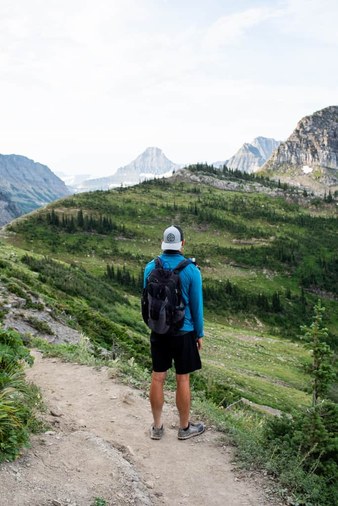 Highline Trail Glacier National Park itinerary