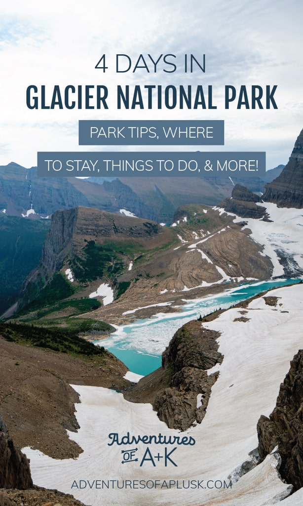 4 Day Glacier National Park Itinerary, Glacier National Park, Things to do at Glacier National Park, 4 Days at Glacier National Park, When to visit Glacier National Park, How to get to Glacier National Park, Where to stay at Glacier National Park, Glacier National Park Tips, Best hikes at Glacier National Park, Glacier National Park trails, St Mary Falls at Glacier National Park, Highline Trail, Lake McDonald, Driving the Going-to-the-Sun Road, What to do at Glacier National Park, Visiting Polebridge at Glacier National Park