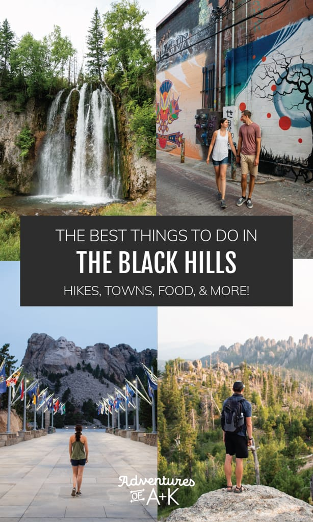 The Best Things to do in the Black Hills | Where to stay in the Black Hills, the Black Hills Lodging, Camping in the Black Hills, Hiking in the Black Hills, The best trails in the Black Hills, What to do in the Black Hills, Visiting Mount Rushmore, Visiting Crazy Horse, Black Hills South Dakota, Devils Tower Wyoming, Visiting Custer State Park, Things to do at Mount Rushmore, Things to do in Rapid City, Rapid City South Dakota, Visiting Deadwood, Things to do in Deadwood, Visiting Spearfish Canyon, Spearfish Canyon Hikes, Spearfish Canyon Waterfalls, Things to do in Spearfish Canyon, Visiting Wind Cave National Park, Things to do at Wind Cave National Park, Jewel Cave, Hikes in the Black Hills, Best hikes in South Dakota
