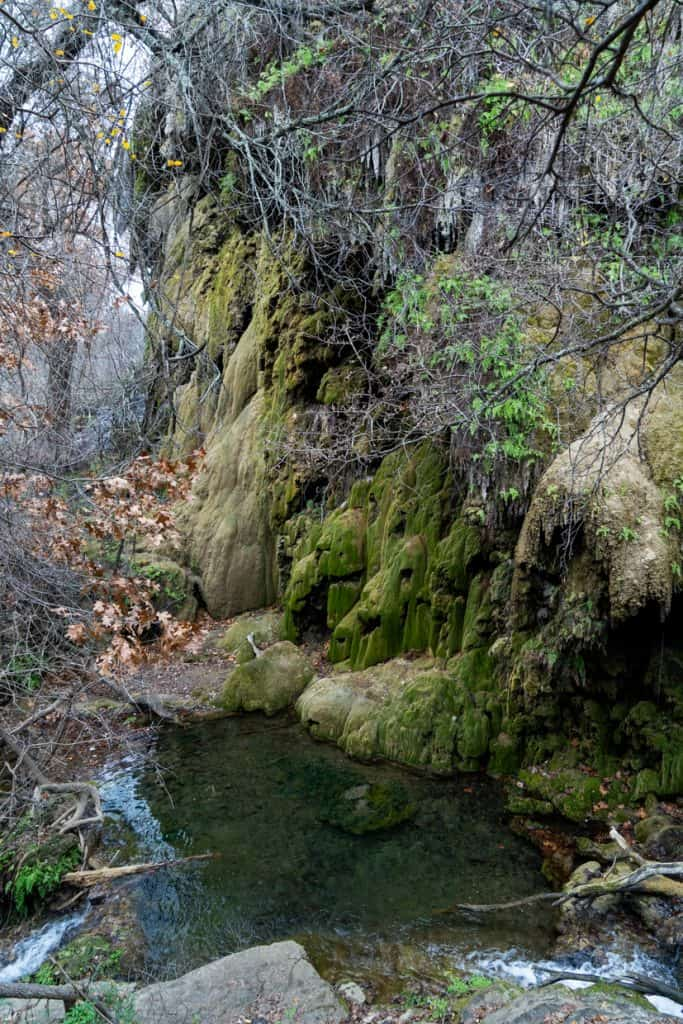 Gorman Falls Trail at Colorado Bend State Park