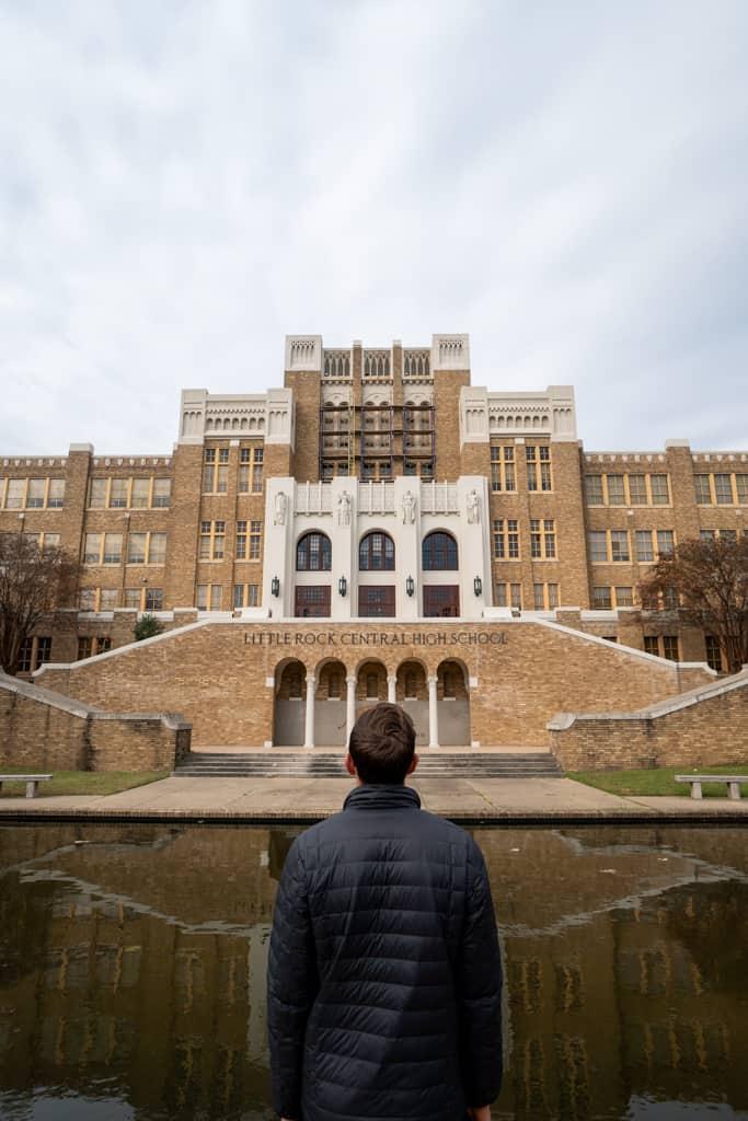 Little Rock Nine, Central High School