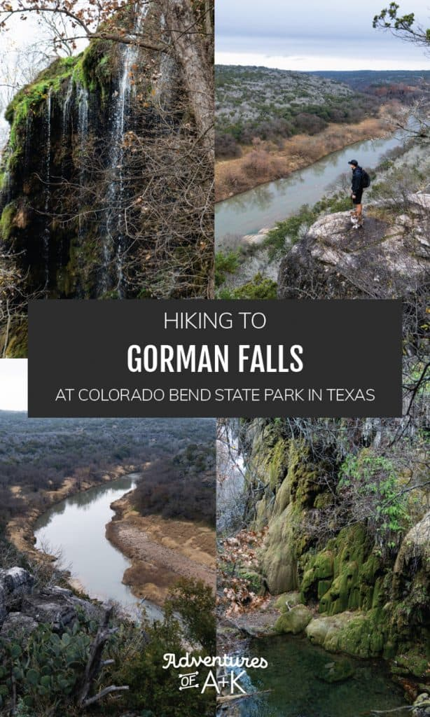 Hiking to Gorman Falls at Colorado Bend State Park | Hiking to Gorman Falls in Texas | Hiking the Gorman Falls Trail | Colorado Bend State Park in Texas | Best hikes in Texas | Texas waterfalls | Texas hikes | Things to do in Texas | Things to do in the Hill Country
