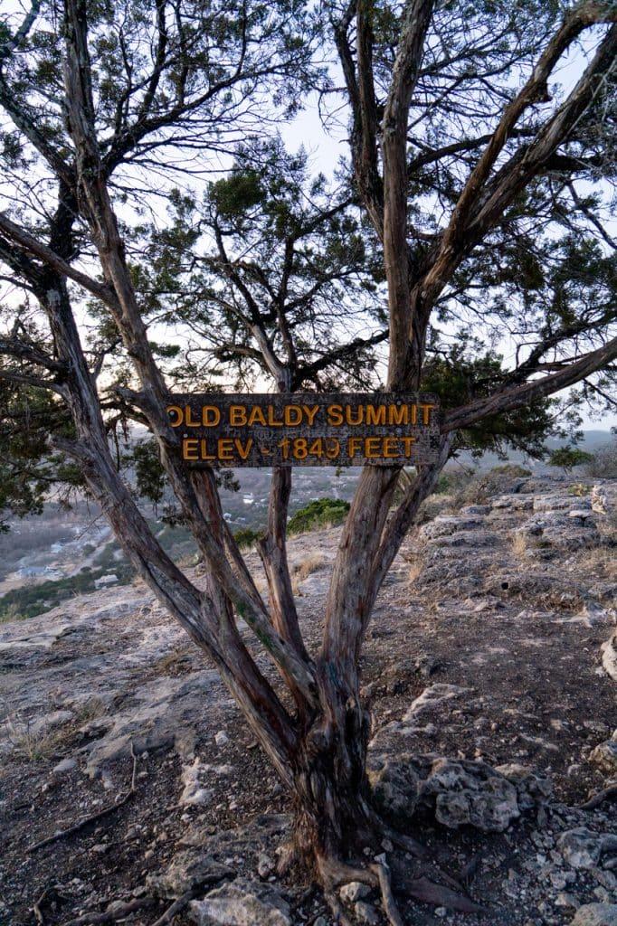 Old Baldy Garner State Park