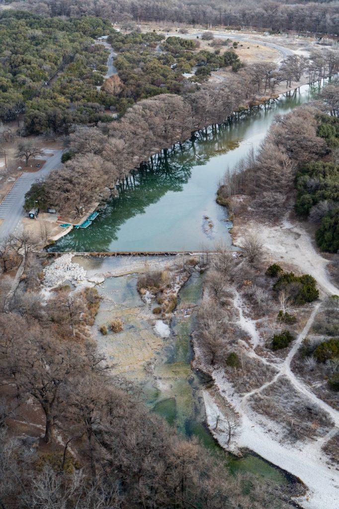 Frio River view