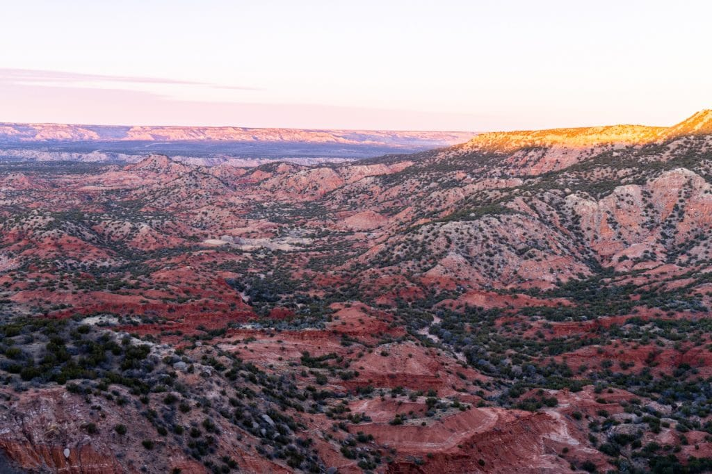 Palo Duro Canyon Free Camping