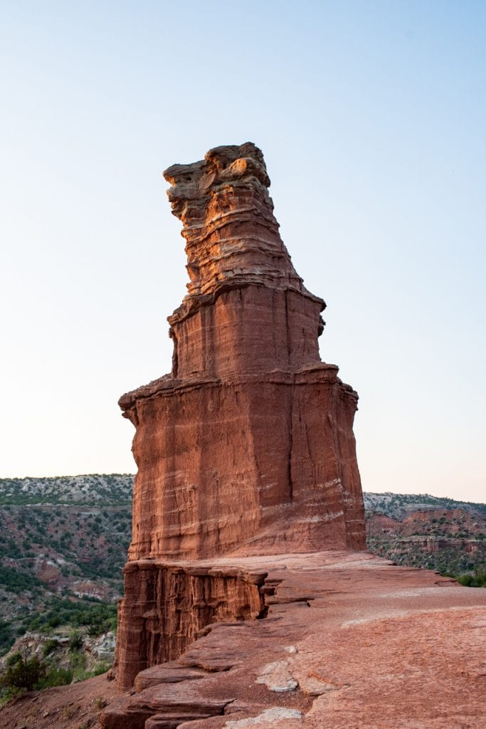 Hiking the Lighthouse Trail at Palo Duro Canyon State Park in Texas | Palo Duro Canyon Lighthouse Trail | Hikes at Palo Duro Canyon State Park | Things to do in Texas | Texas hikes | Things to do in the Texas Panhandle | Texas State Parks