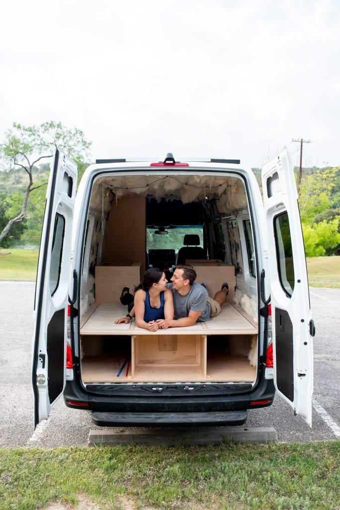 Van life build