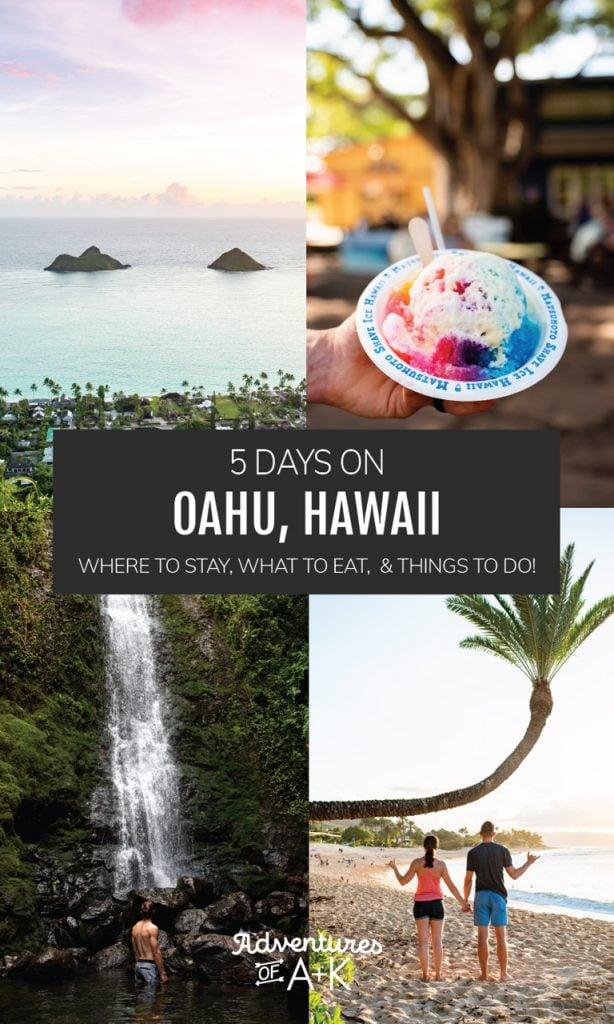 5 Days on Oahu | Oahu Itinerary | Oahu Travel Guide | Oahu Guide | Oahu Travel | Hawaii Guide | Hawaii Itinerary | Things to do on Oahu | Things to do in Oahu | Hawaii Travel | Things to do in Hawaii | Where to Stay Oahu | Best Food on Oahu | Best Beaches on Oahu | Best Hikes on Oahu | Oahu Hikes | Oahu Beaches | Oahu Food | What to do on Oahu | What to eat on Oahu
