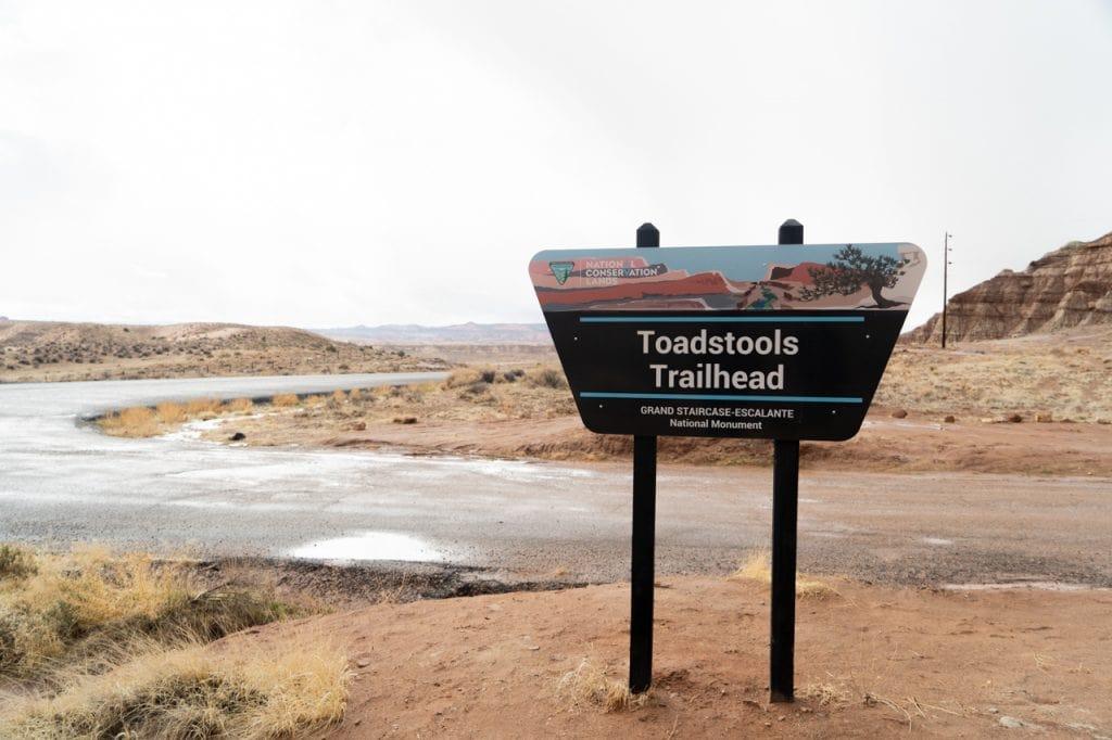 Toadstools trailhead