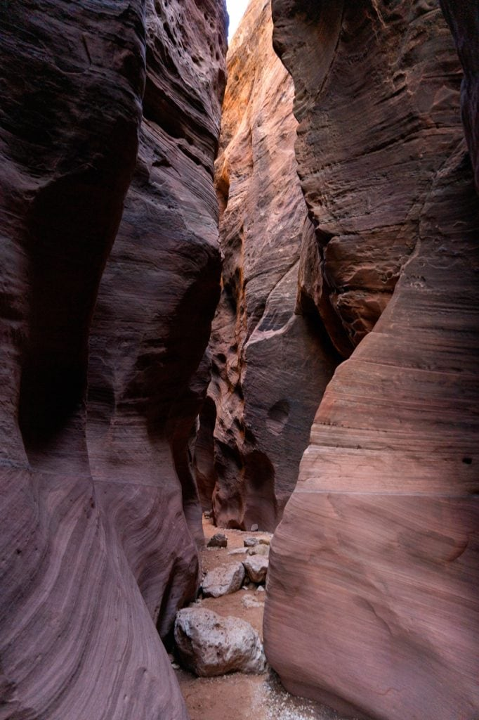 Wire Pass Slot Canyon Utah