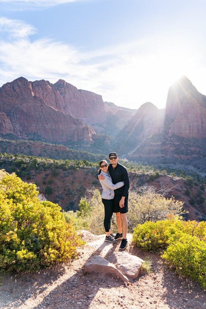 Zion National Park Kolob Canyons
