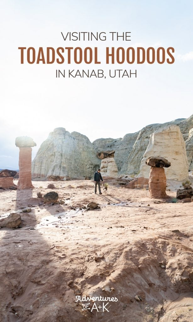 A guide to hiking the Toadstool Hoodoos trail, one of the best things to do in Kanab, Utah | Things to do in Southern Utah | Southern Utah Hikes | Kanab Utah Hikes