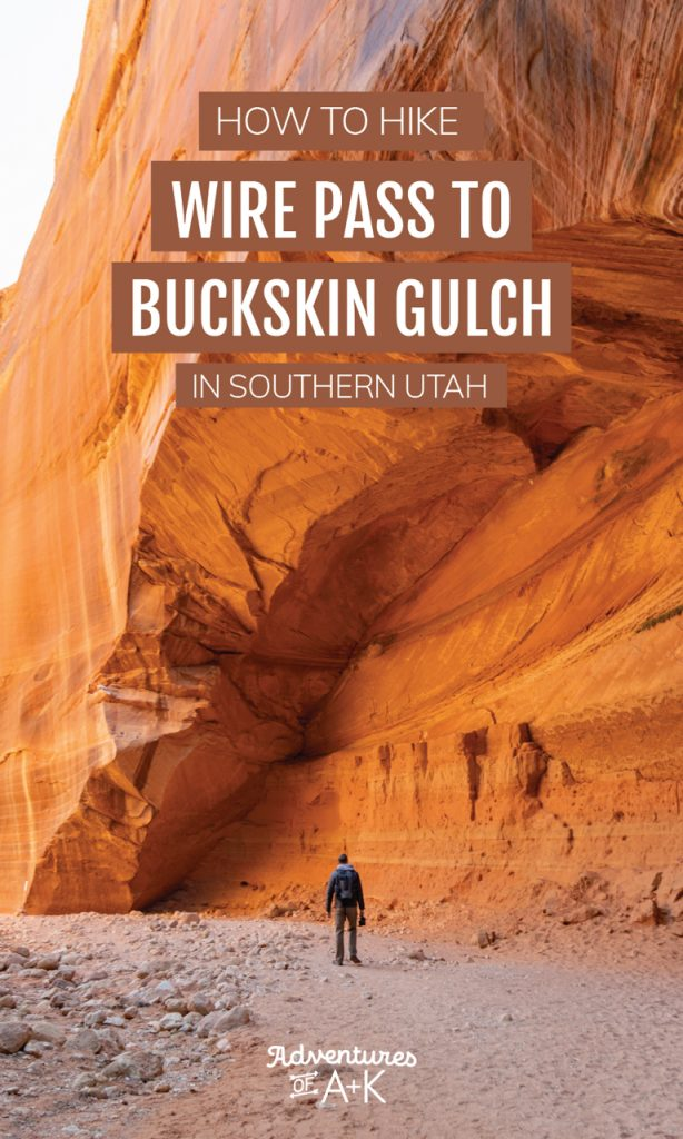 How to hike Wire Pass to Buckskin Gulch in Southern Utah | Best hikes in Utah | Utah slot canyons | Things to do in Southern Utah | Southern Utah Hikes | Kanab Utah Hikes