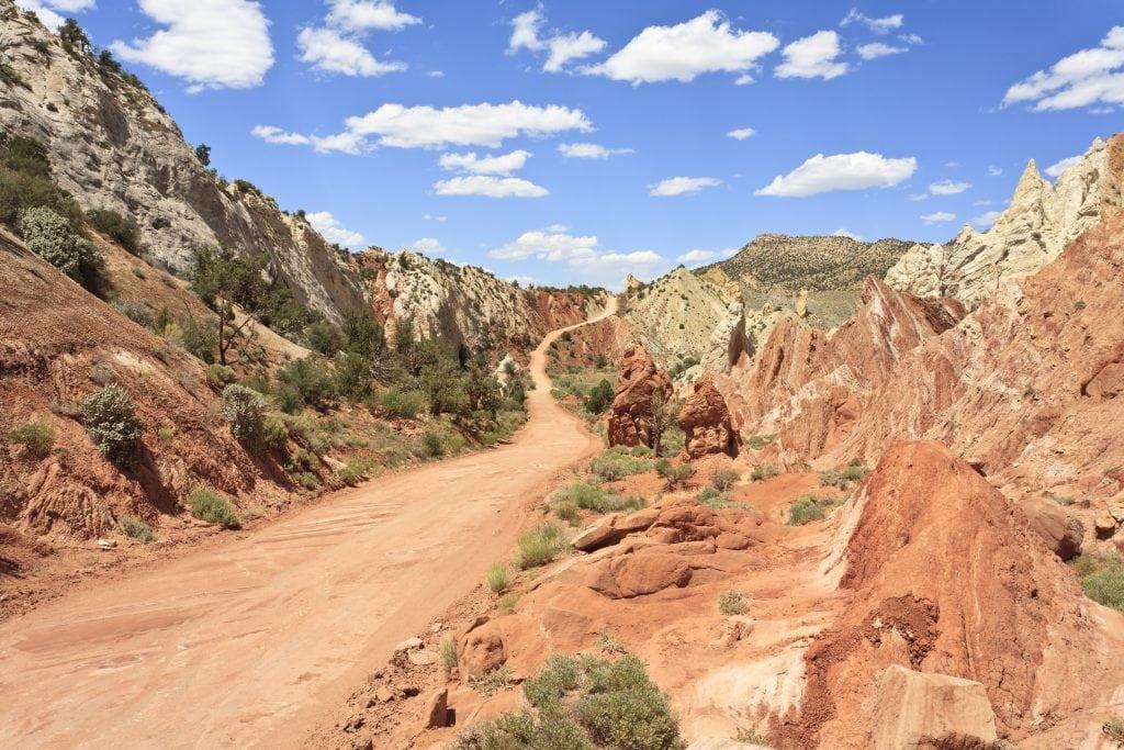 Cottonwood Canyon Road, Things to do in Kanab Utah