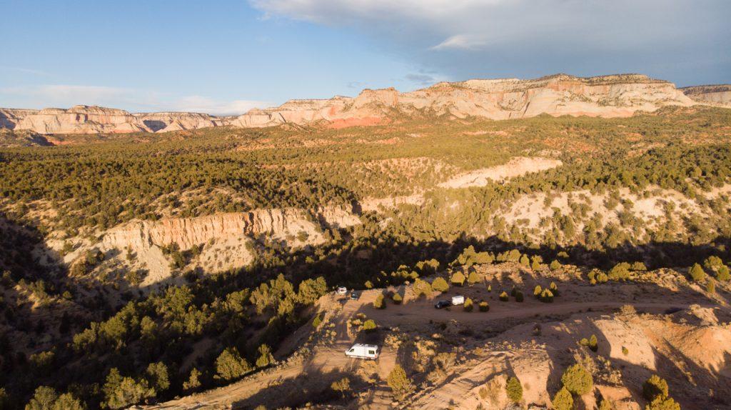 Old Highway 89 Dispersed Camping near Kanab Utah