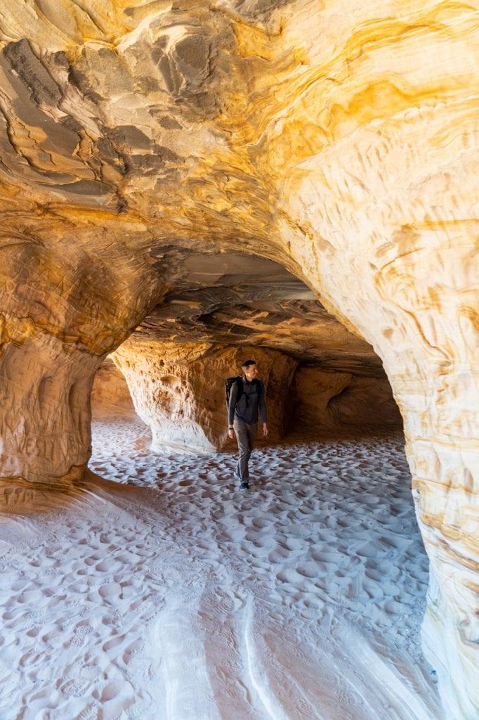 Sand Caves in Kanab Utah, Things to do in Kanab Utah