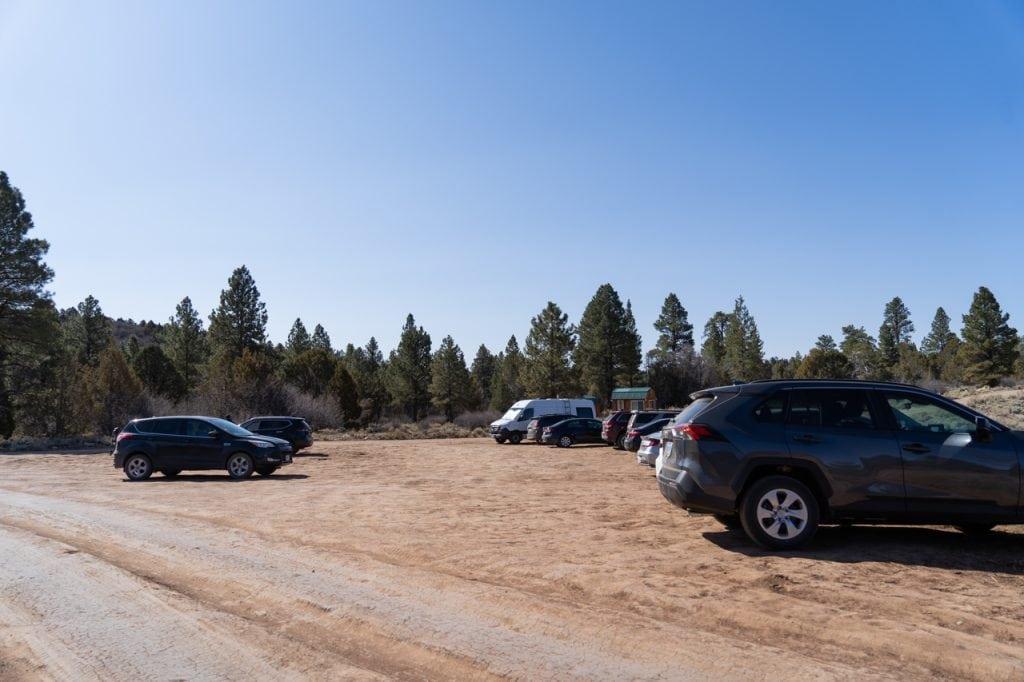 Observation Point parking