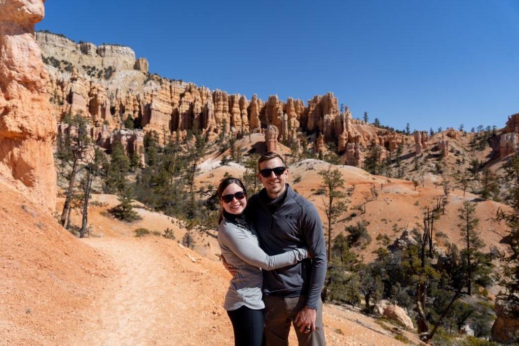 Fairyland Loop Trail at Bryce Canyon