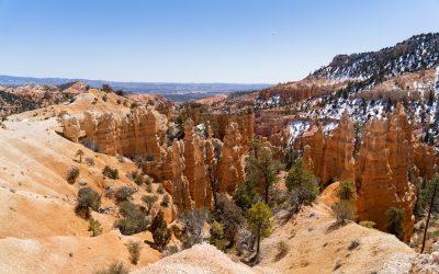 Hiking the Fairyland Loop Trail at Bryce Canyon National Park