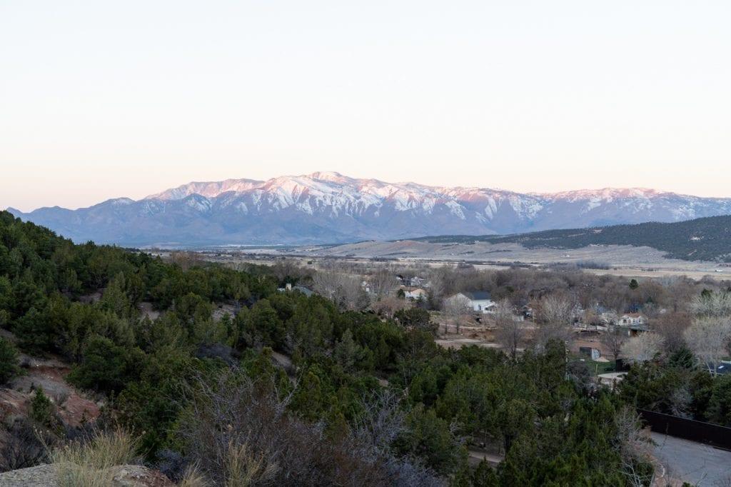 Views from Kanarra Falls trail