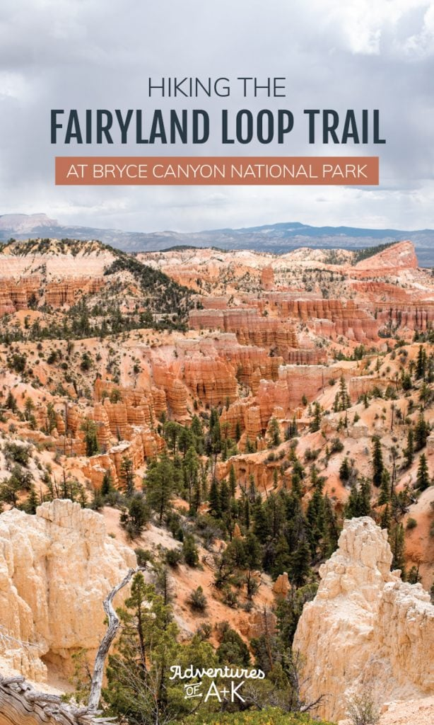 Hiking the Fairyland Loop Trail at Bryce Canyon National Park: Route Options, Mileage, Tips, When to hike, & more!