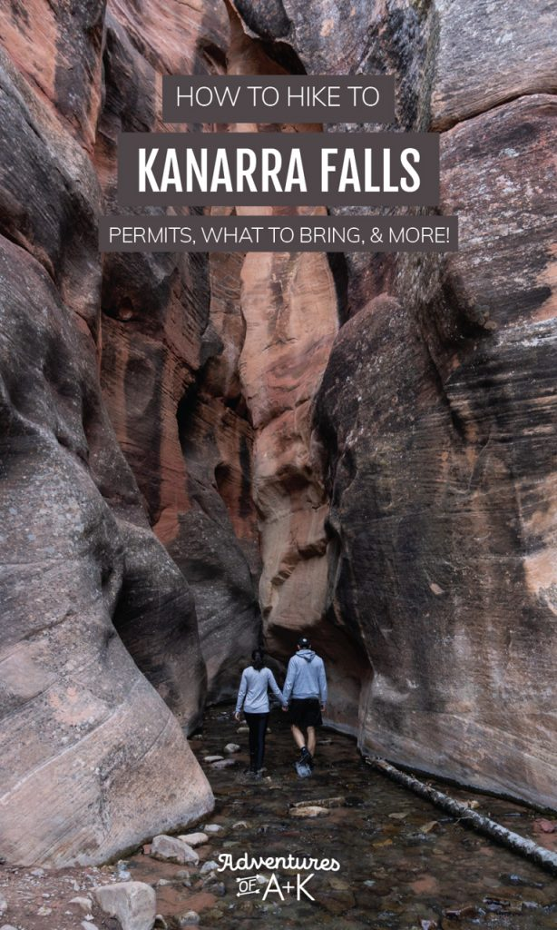 How to hike to Kanarra Falls near Zion National Park: Permits, what to bring, & more!