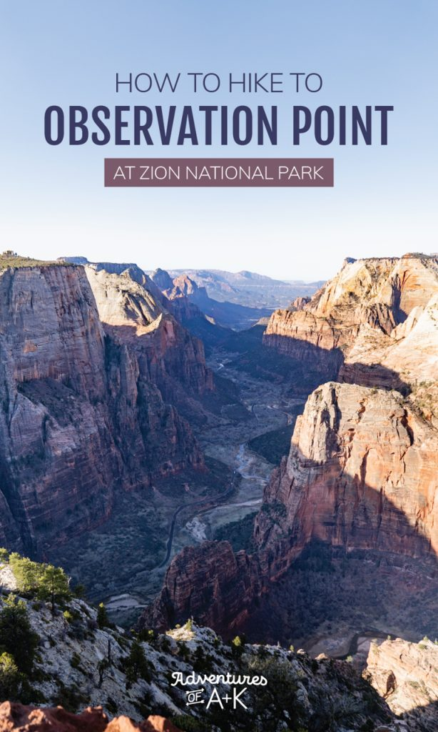 How to hike to Observation Point: the best view at Zion National Park | Observation Point Trail, Observation Point via East Mesa, Observation Point Zion, Best hikes at Zion National Park, Things to do at Zion National Park, Alternative to Angels Landing