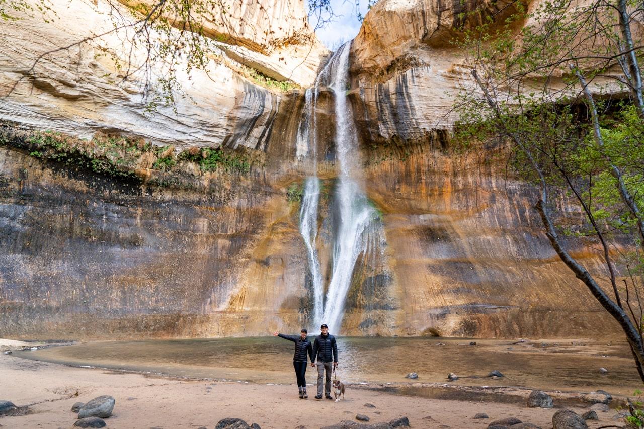 Lower Calf Creek Falls Trail