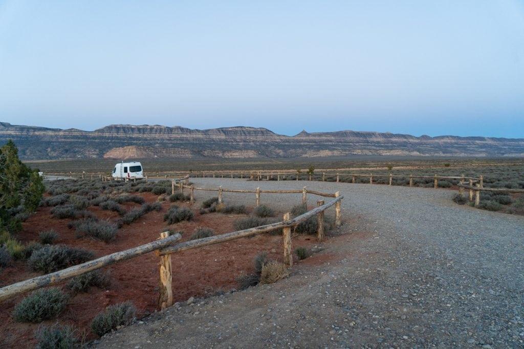 Lower Dry Fork Narrows Trailhead