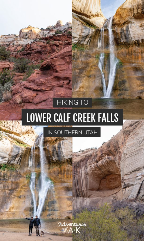 Hiking to Lower Calf Creek Falls in Southern Utah | Southern Utah Hikes | Grand Staircase-Escalante National Monument | Hikes in Escalante | Things to do in Southern Utah