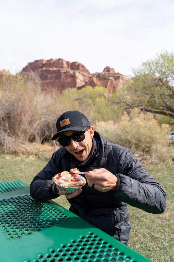 Pie at Capitol Reef National Park