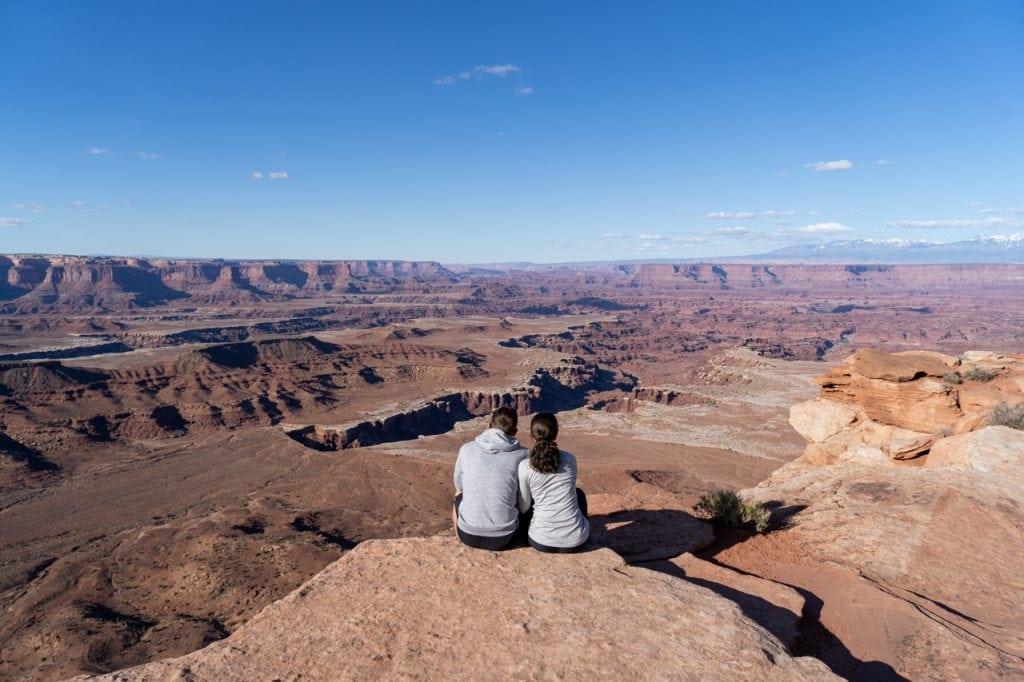 White Rim Overlook Canyonlands National Park