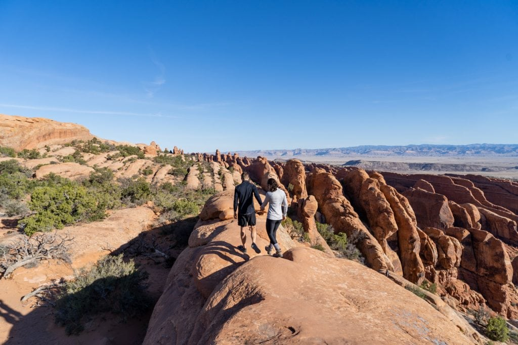 Devils Garden Trail Things to do in Arches National Park