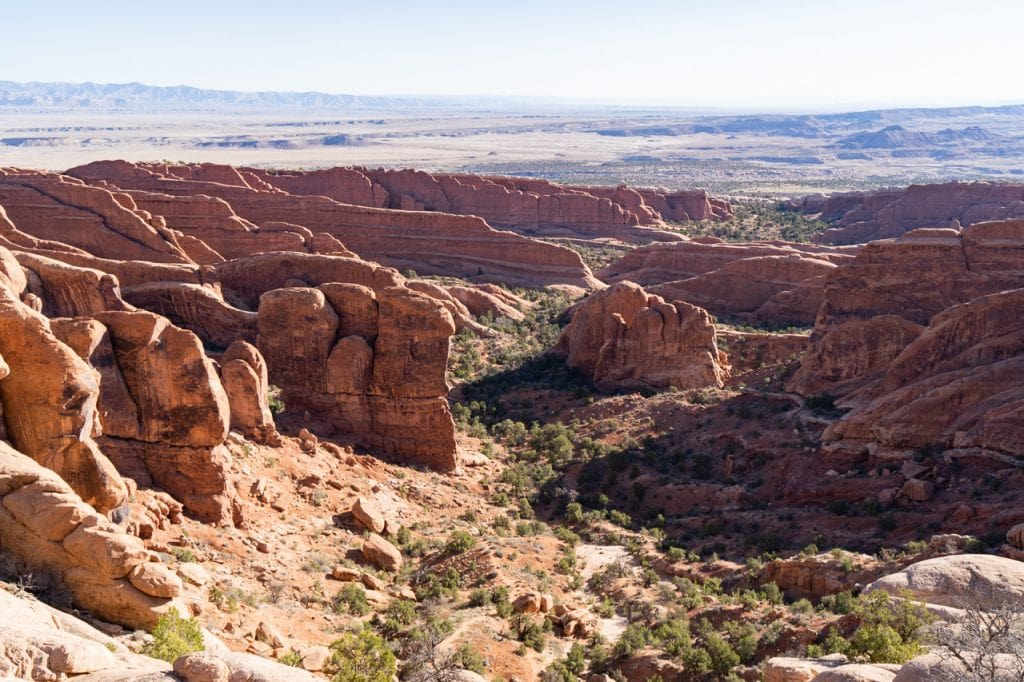 Devils Garden Trail Arches National Park Things to do in Arches National Park