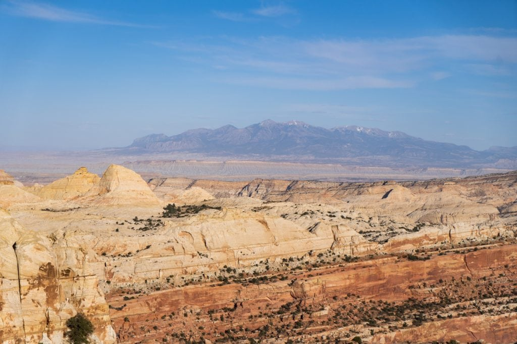 Navajo Knobs Trail at Capitol Reef National Park