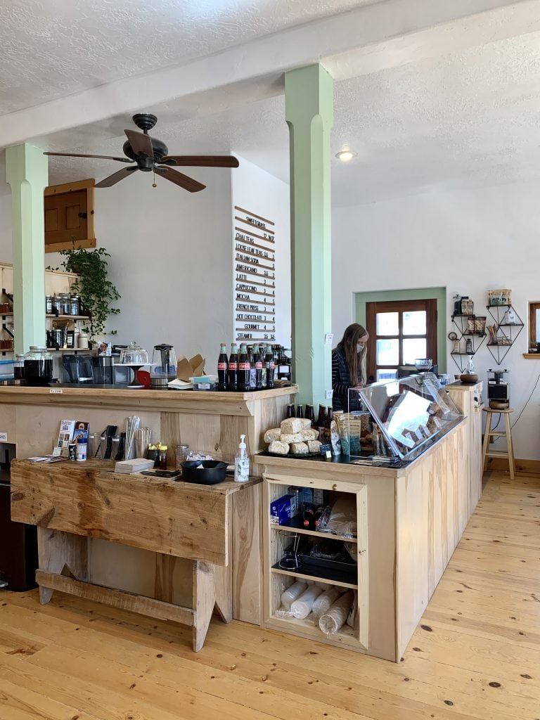 Sweetgrass Coffee Bicknell