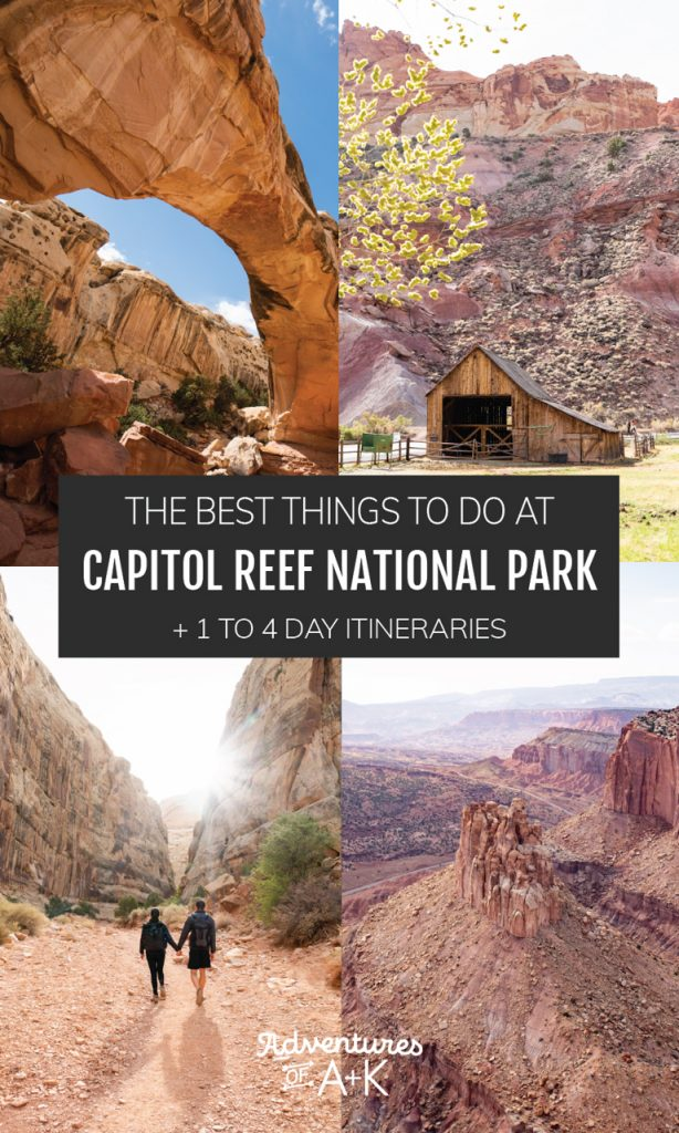 The Best Things to do at Capitol Reef National Park | Capitol Reef National Park Itinerary | What to do at Capitol Reef National Park | Utah National Parks | Capitol Reef Guide